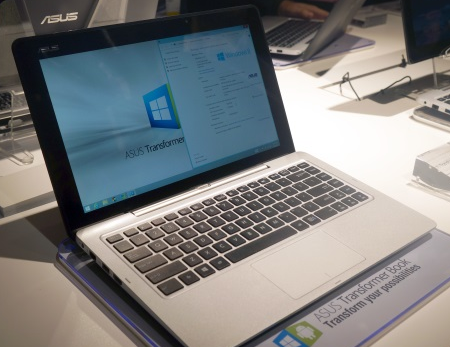 Asus Transformer Book TD300 combined Devices Android and ...